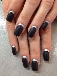 all black nail designs image collections nail art designs