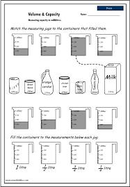 volume worksheets grade 8 worksheets