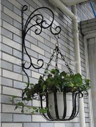 wrought iron garden ornaments handmade decoration metal hanging