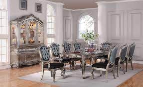 dining room sets with fabric chairs antique chantelle dining set u2013 atlantic furniture
