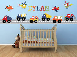 truck wall decals for kids baby room truck wall decals image of jungle truck wall decals