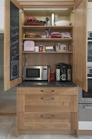 Kitchen Cabinet Appliance Garage by 15 Kitchen Storage Ideas Home Dreamy