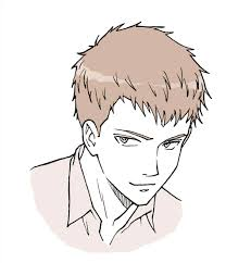 spiky anime hairstyles anime spiky hair beautiful and in color drawn male curly hairstyles