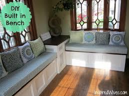 Kitchen Bench With Storage Build Kitchen Nook Bench Seat Built In Kitchen Benches With