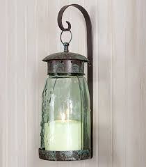 Tin Sconce Amazon Com Colonial Tin Works Quart Mason Jar Hanging Wall Sconce