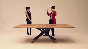 ozzio 4x4 tavolo da pranzo allungabile extendable table italian