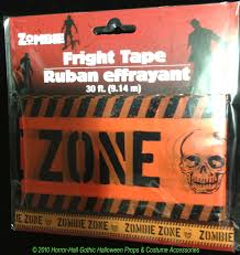 keep away turn back zombies inside door cover horror decoration