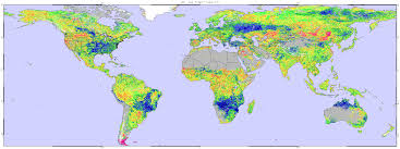 Spain On A World Map by Current Conditions Global Drought Information System