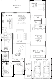 grandeur 8 floor plan single storey home designs single level display homes domain
