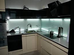 Aluminum Backsplash Kitchen Black Appliances In Galley Kitchen Personalised Home Design