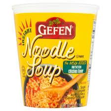 gefen noodles gefen no msg chicken noodle 65g from ocado