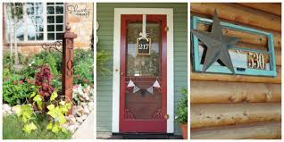 cool home design 12 diy house number ideas cool house numbers you can make