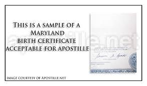 maryland apostille apostille service by apostille net