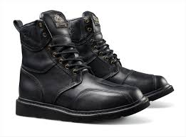 black boots motorcycle sands design