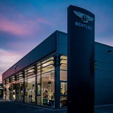bentley headquarters mannheim all new showroom opens