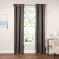 Silver Black Curtains Gray And Silver Curtains Drapes You Ll Wayfair