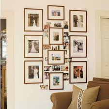 Best How To Arrange Family Photos Images On Pinterest Home - Wall decor ideas for family room