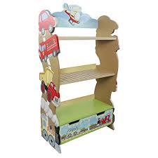 Toy Box With Bookshelves by Amazon Com Fantasy Fields Transportation Bookshelf Toys U0026 Games