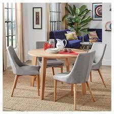 sullivan round dining table inspire q sullivan oak mid century 5 piece round dining set round