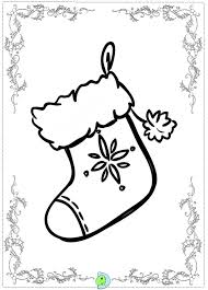 6 nice christmas stocking coloring ngbasic