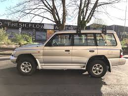 mitsubishi shogun 2000 2 8 td gls 5 door manual 7 seater long mot