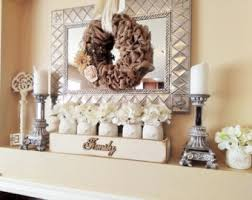 Family Room Decor Mantle Decor Etsy