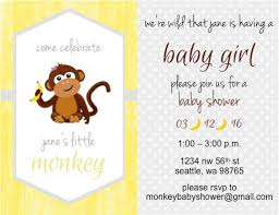 baby shower monkey monkey themed baby shower on a budget the diy lighthouse