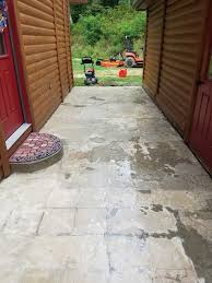 Concrete Patio Resurfacing Products Spice Up Your Worn Concrete Patio With Flo Coat Resurface By Sakrete