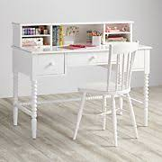 Girls White Desk With Hutch by Home Styles 5530 162 Naples Student Desk And Hutch White Finish