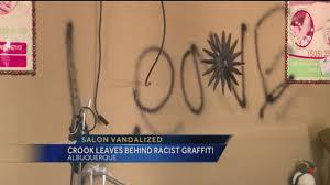 police investigate salon vandalism as crime