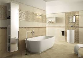 pebble border tiles bathroom