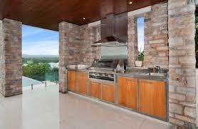 outdoor kitchen backsplash furniture stainless steel countertop outdoor kitchen cabinet