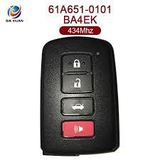 toyota car and remotes ak007088 for toyota car remote 3 1 buttons 61a651 0101 ba4ek 8a