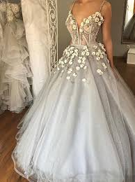 tulle wedding dress buy gown spaghetti straps court grey tulle wedding