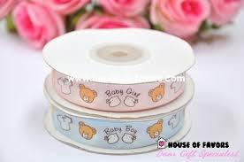 baby shower ribbon baby shower ribbons baby boy baby girl 5 8 20y ribbons