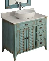 36 vessel sink vanity check out these bargains on 36 distress blue abbeville vessel sink