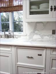 Marble Mosaic Backsplash Tile by Kitchen Room Polished Marble Backsplash Natural Stone Subway