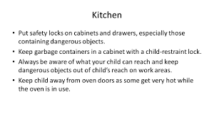 safety at home children and babies ppt video online download