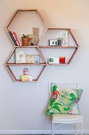 Designer Wall Shelves by Diy Honeycomb Shelves A Beautiful Mess Honeycombs Shelves And