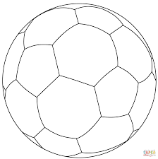 awesome soccer ball coloring page 15 in free colouring pages with