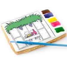 sukkah kits sale brilliant all in one paint a cookie kit sukkoth sukkah kids