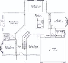 floor plan of monticello 9105 glenarden pkwy glenarden maryland d r horton