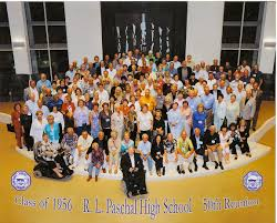 50th high school class reunion class of 1956 r l paschal high school reunion picture paschal