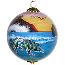 aloha means hawaii ornament by design