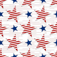 seamless pattern stars on background 4th july stars and