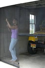 a screen door for your garage works with existing garage door
