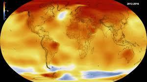 2016 by Nasa Noaa Data Show 2016 Warmest Year On Record Globally Nasa