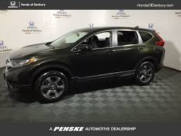 honda crv 2017 new honda cr v ex l awd w navi at honda of danbury serving