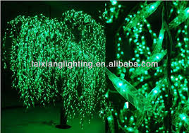 artificial trees landscape led tree light artificial flower cherry