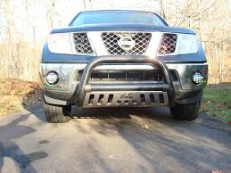 nissan titan yellow fog light piaa fog lights installed nissan frontier forum